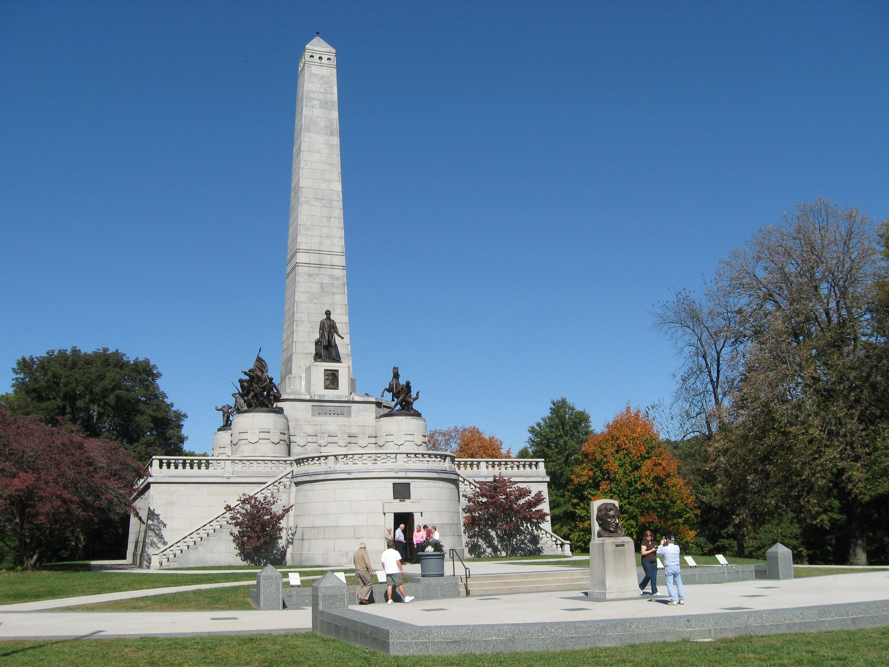 lincoln tomb springfield il Places I ve Been Pinterest