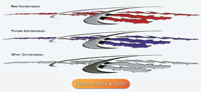 Boat Graphic - Wicked - Size 2970mm by 285mm    ONLY SOLD AS A PAIR   one left & one right Total $278 | get a pair now on www.boatnames.com.au
