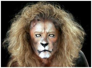 lion face paint on pinterest cat face paintings tiger face paints and pirate face paintings. Black Bedroom Furniture Sets. Home Design Ideas