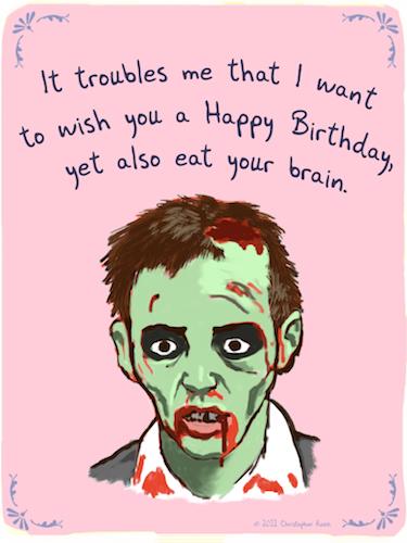 Zombie birthday miscellaneous pinterest ecards online online zombie birthday bookmarktalkfo Images