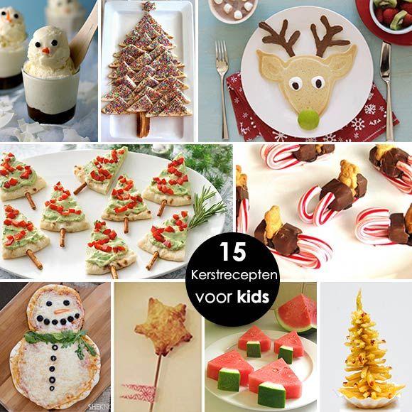 Verbazingwekkend Kerstrecepten voor kinderen - Van voorgerecht tot hoofdgerecht AS-94