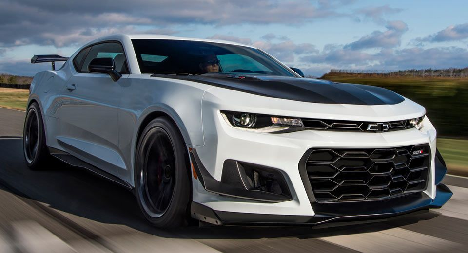 Barrett Jackson S Auctioning Off The First 2018 Chevy Camaro Zl1
