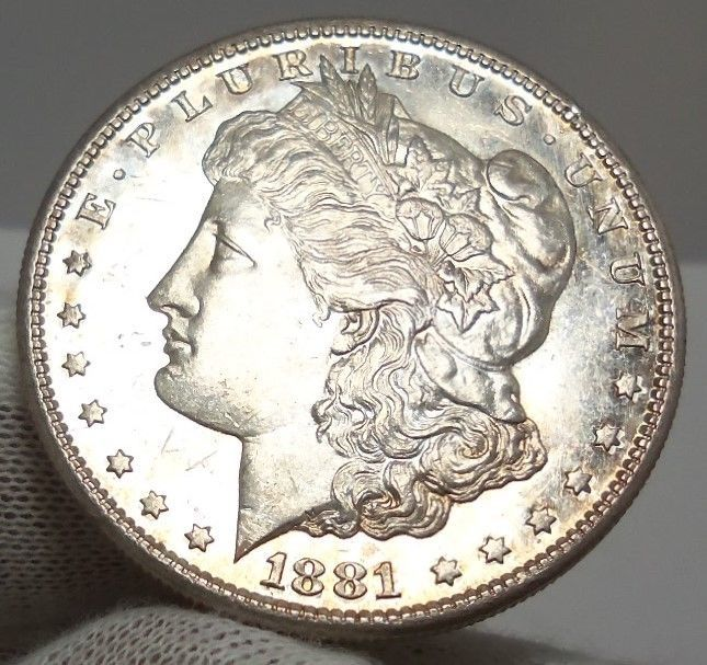 99 Cent Auction Authentic 1881 S Morgan Silver Dollar Coin Proof Like Nr With Images Silver Dollar Coin Silver Dollar Coins