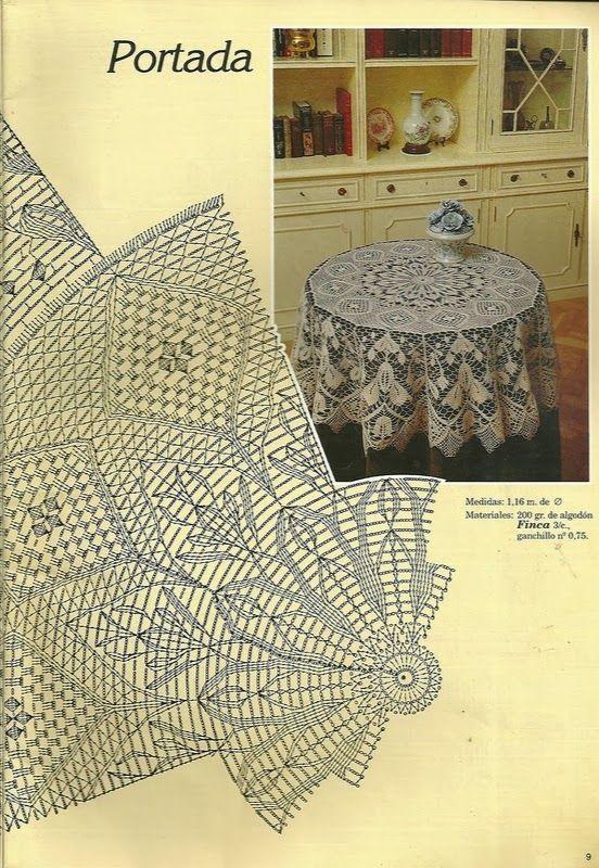 Doily Portada Haken Kleedjes Rond En Ovaal Napperon Crochet