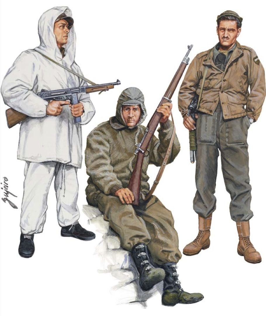 Brazilian Expeditionary Force, Winter Operations, Italy ...