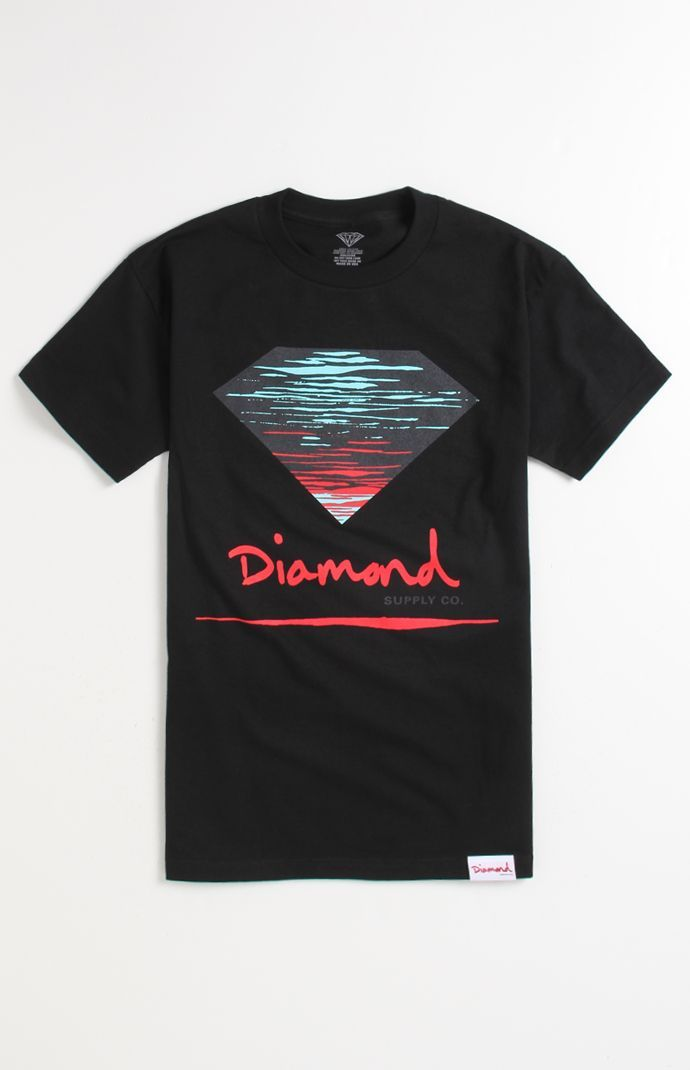 a42f7e76195462 Mens Diamond Supply Co Tee - Diamond Supply Co Dealers T-Shirt ...