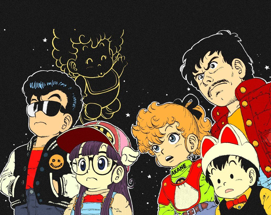 Image result for Dr. Slump pinterest