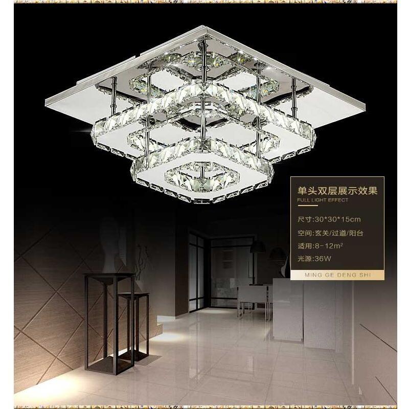 Vergleichen Preis Moderne kristall led-deckenleuchten schlafzimmer - wohnzimmer design leuchten