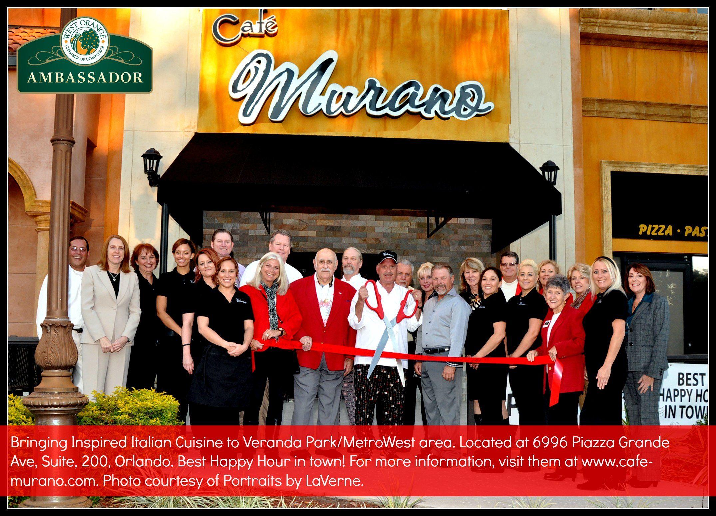 west orange chamber of commerce celebrates cafe murano u0027s ribbon