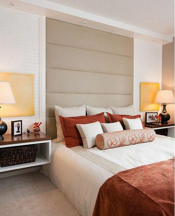 Feng Shui Schlafzimmer einrichten - was sollten Sie dabei beachten - bordeaux schlafzimmer