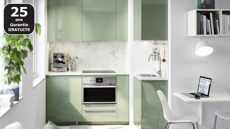 Toutes Les Finitions Cuisine Ikea Rangement Ouvert Architecte Interieur