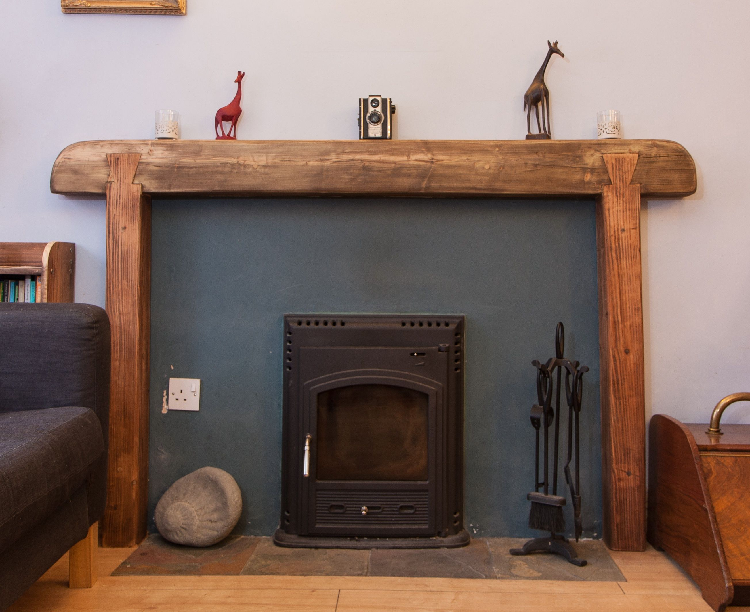Handcrafted Fire Surround By Marc Wood Joinery 298 Image By Paul