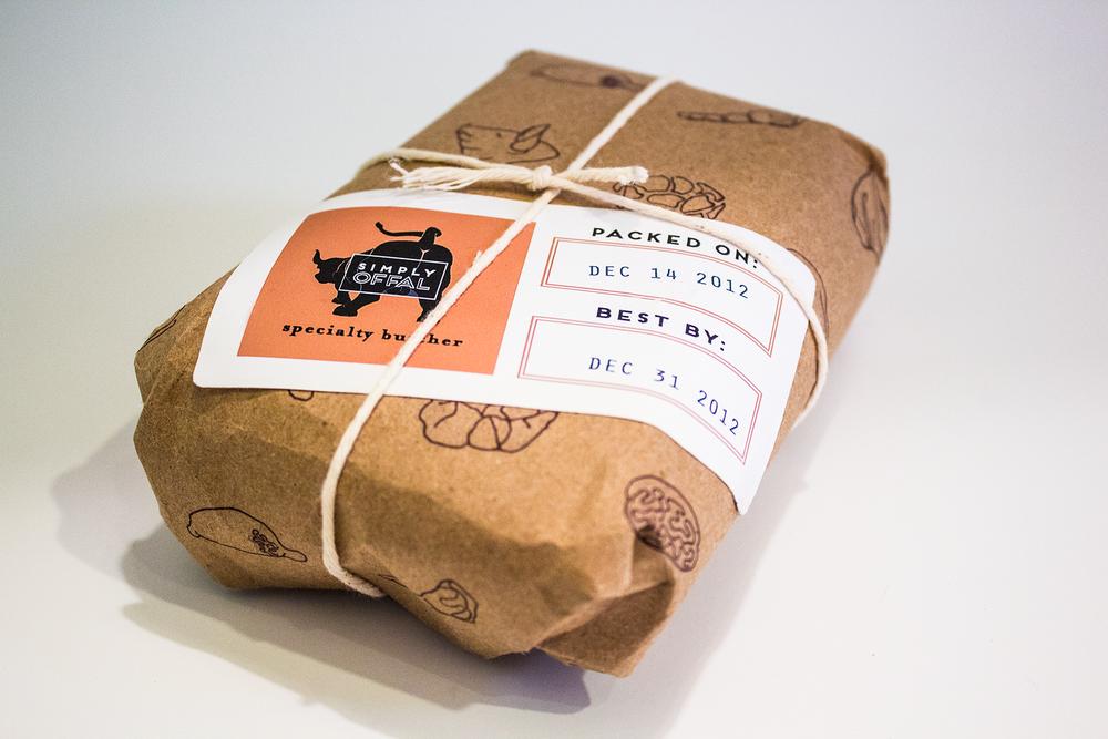 Meat Butcher Paper Mockup Google