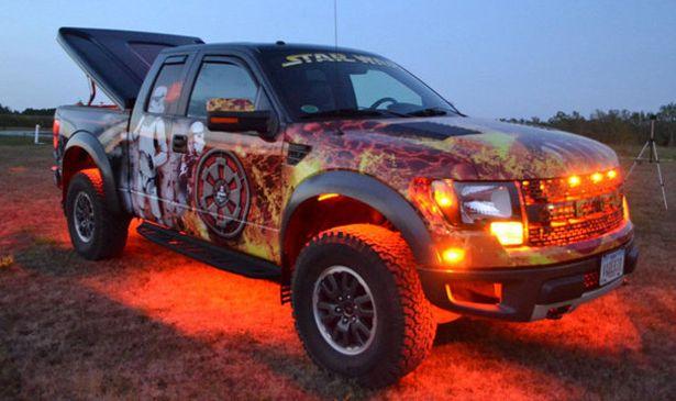 Camioneta ford raptor al estilo star wars ford pinterest camioneta ford raptor al estilo star wars voltagebd Images