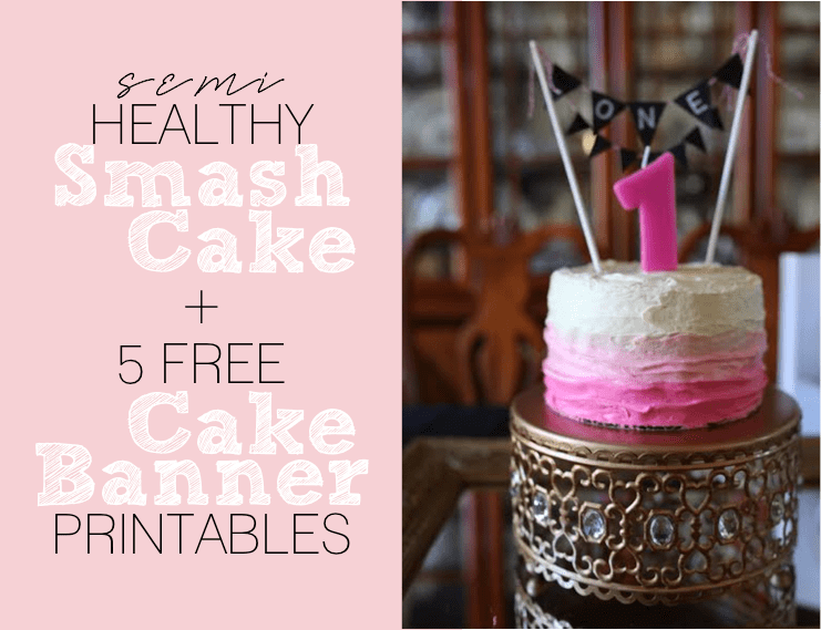 Healthy Smash Cake Recipe 1st Birthday Chekwiki