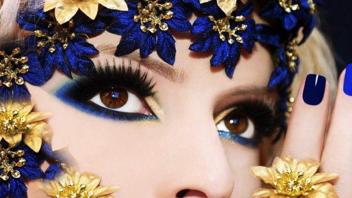 Download Beautiful Eyes Makeup Wallpaper for Desktop
