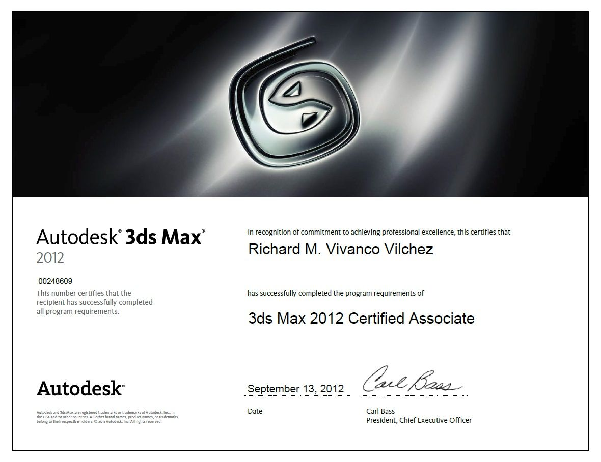 Autodesk certified associate in 3dsmax autodesk certified autodesk certified associate in 1betcityfo Image collections