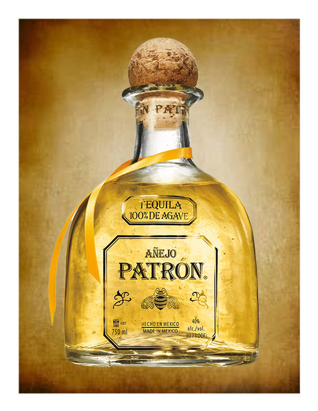 Patron Anejo Tequila Custom Edible Image Just Place On Your Quarter Sheet Frosted Cake Alll Sizes Patron Tequila Patron Anejo Anejo Tequila