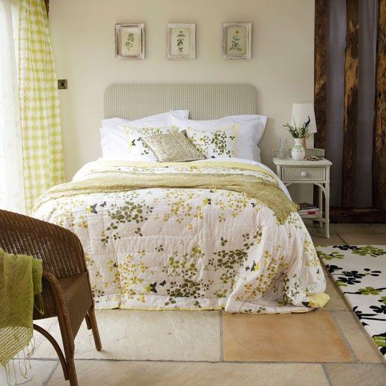 Frische Grüne Schlafzimmer Wohnideen Living Ideas