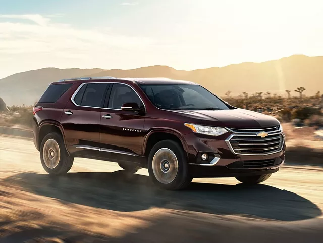 2021 chevy traverse facelift and release date  chevrolet