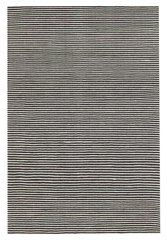Arles Wool Amp Viscose Rug Black Wool Rugs Simple Style