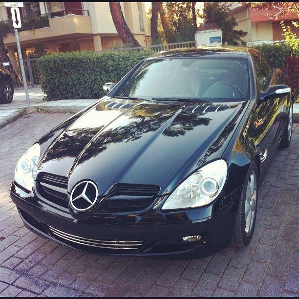 Mercedes Slk 200 Mercedes Slk200 Black With Images Mercedes