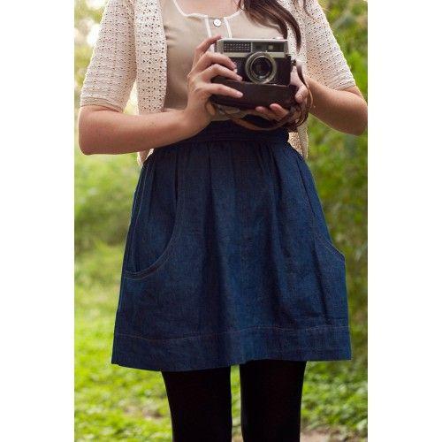 Schnittmuster: Brumby Skirt