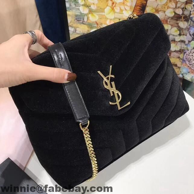 1b36f128a3e6 Saint Laurent Small Loulou Chain Bag in