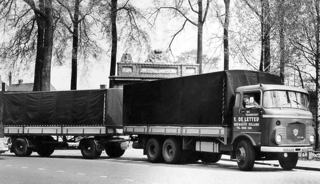 Pin van A de op Scania Vrachtwagens, Koewacht