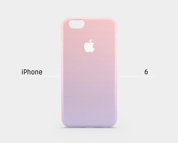 iPhone 6 case - Pastel gradation pink purple - iPhone 6 case, iPhone 6 Plus case, iPhone 5s case, iPhone 5 case, iPhone 4s case non-glossy