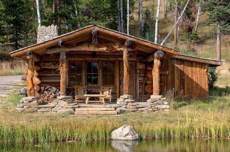 Pin de ignacio arrieta en caba as r sticas casas for Modelos cabanas rusticas pequenas