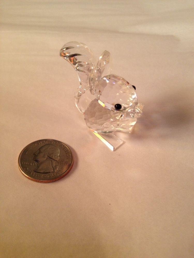 ad5742b08 Swarovski Crystal Figurines Retired Squirrel   Sale! www.ebay.com ...