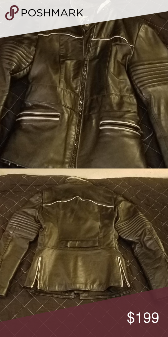 Leather Jacket (With images) Leather jacket, Black