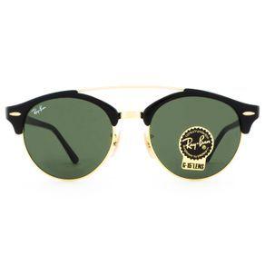 aaf52ee4142e5 O Óculos de Sol Ray Ban Masculino Gatsby RB4346 901-51 é o queridinho da  rodinha dos intelectuais