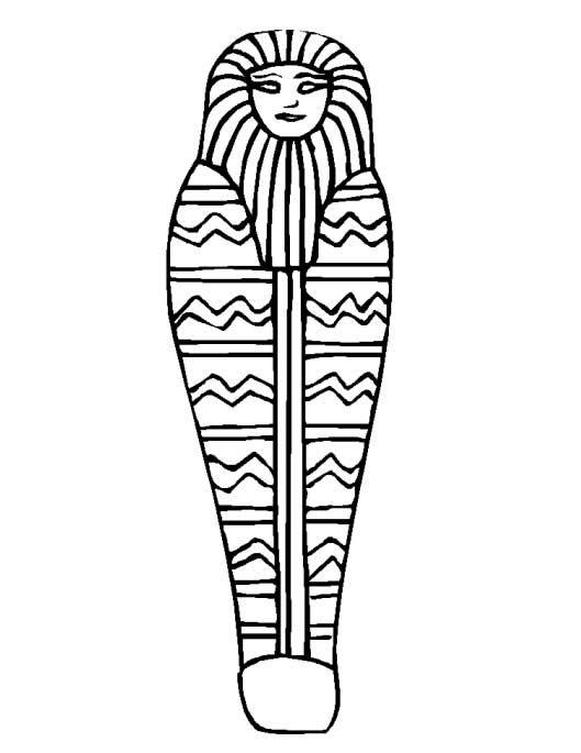 Egipicios Desenhos Pesquisa Google Mumia Do Egito Arte