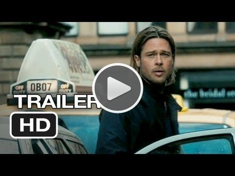 World War Z Movie Trailer Http Pspl Reachli Com T 43122ir1w Brad Pitt Movies Brad Pitt Movie Trailers