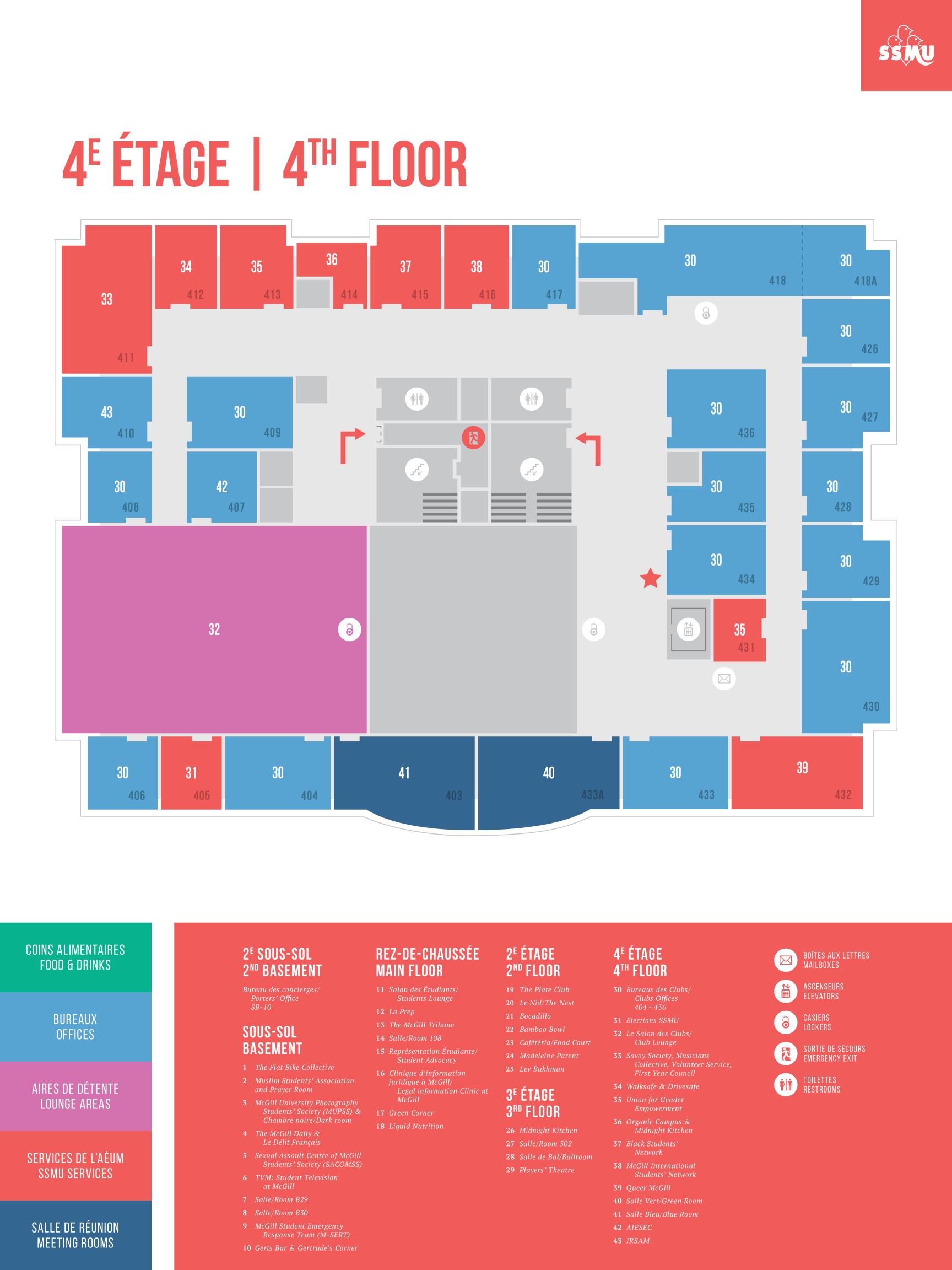 ssmu building map 4th floor - Floor Map Design
