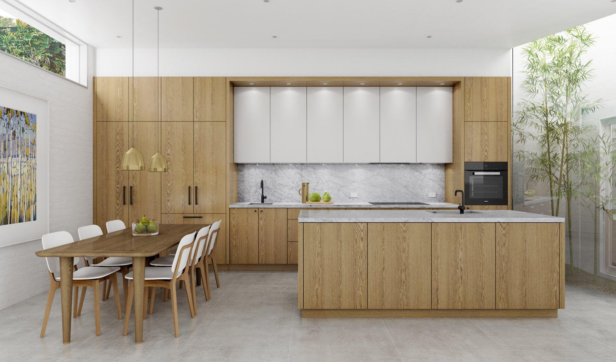 Timber Veneer Designer Kitchen Installation Dan Kitchens Kitchen Design Timber Kitchen Kitchen Installation