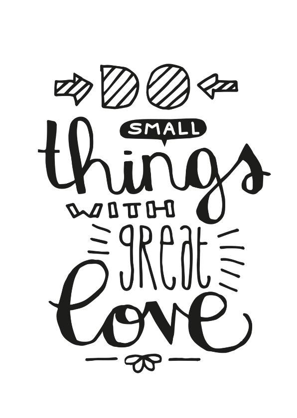 Zomaar Small things - Spreukenkaarten | Kaartje2go
