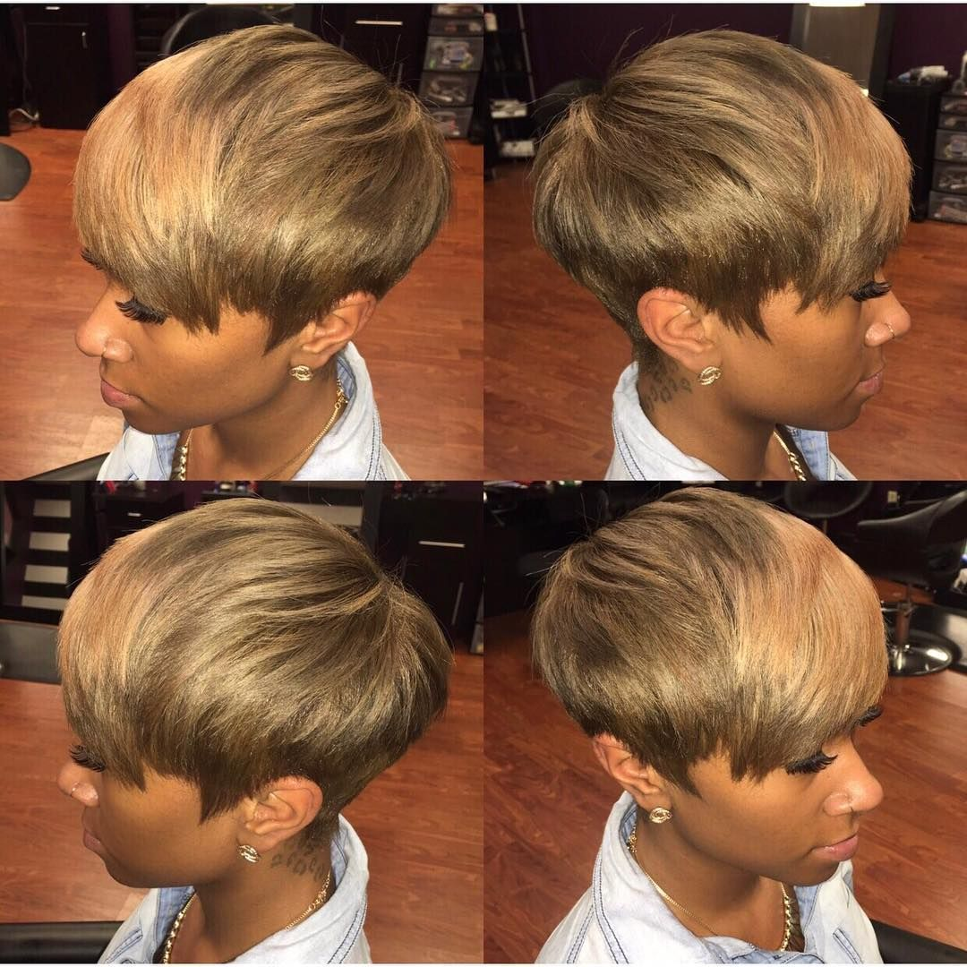 Short Cut Weave Hairstyles | Fade Haircut