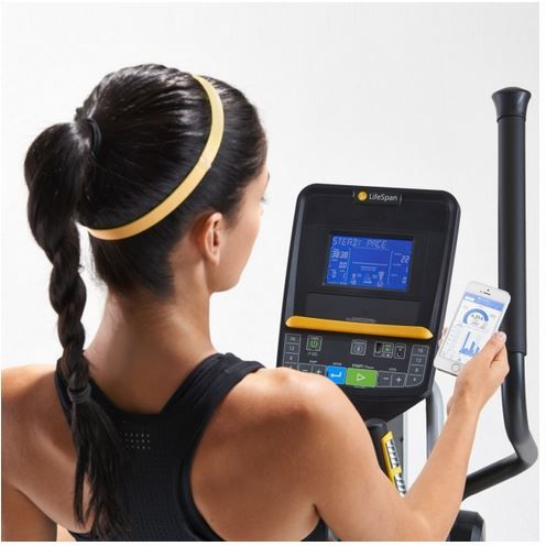 LifeSpan E2i Elliptical Get fit. Then get credit for