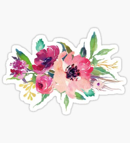 Flower Stickers Stickers Aesthetic Stickers Tumblr Stickers