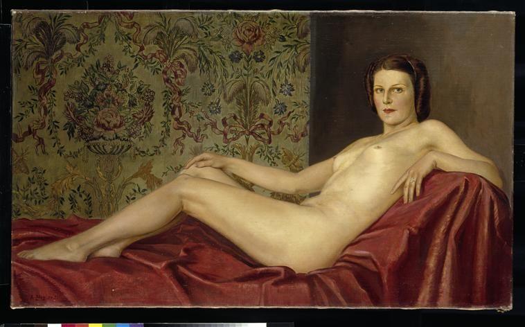 Nu féminin allongé Ziegler Adolf (1892-1959)  peintre  sc 1 st  Pinterest & Nu féminin allongé Ziegler Adolf (1892-1959)  peintre | Reclining ... islam-shia.org