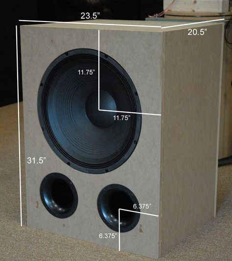 Home Theater Design Ideas Diy: The V.B.S.S. DIY Subwoofer Design Thread
