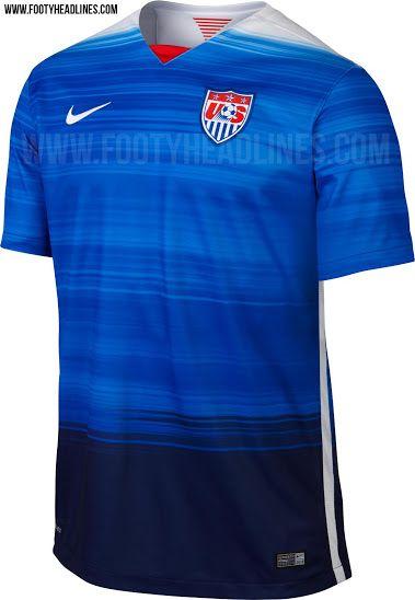0911644ecfe12 Nike USA 2015 Away Kit Released - Footy Headlines | IDEAS SPORT ...