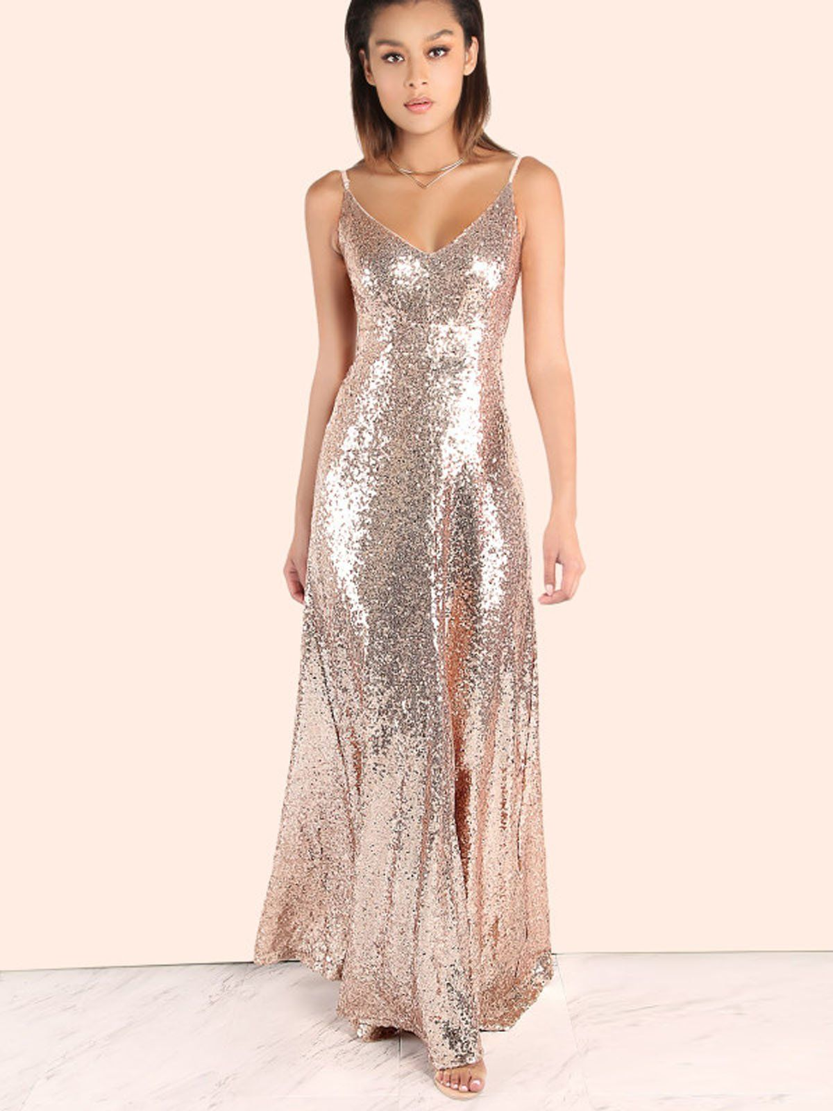 a872fcef Pink 1920s Backless Sequin Dress – Retro Stage - Chic Vintage Dresses and  Accessories