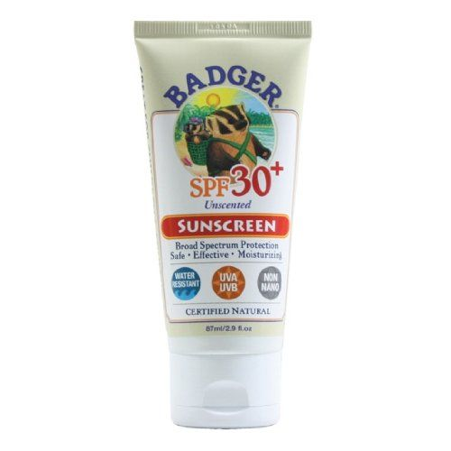 badger all natural sunscreen unscented spf 30 refinery29