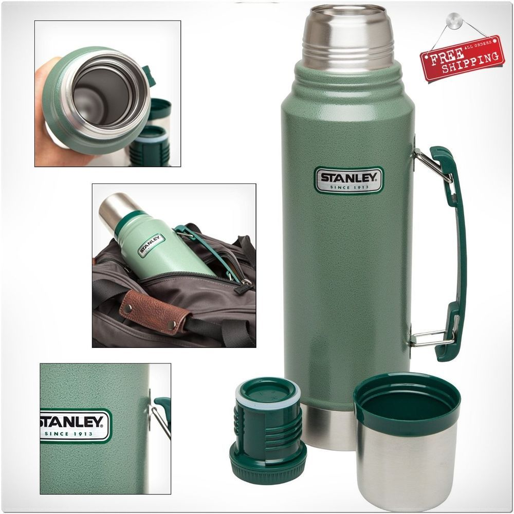 Stanley Coffee Thermos Vacuum Bottle Stainless Steel Hot