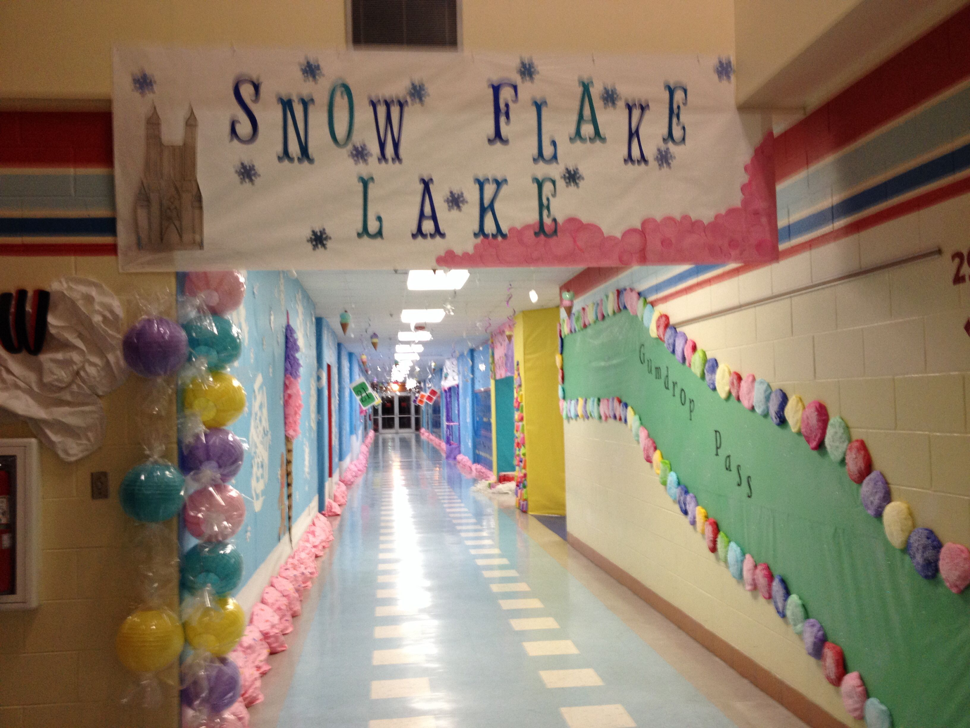 Snowflake Lake Candyland Candyland Decorations Candy Land Theme Candyland Party