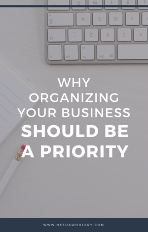 5 Urgent Reasons To STOP Procrastinating And Get Organized  — Nesha Woolery